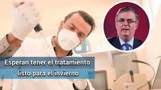 México busca acceso temprano a posible vacuna contra Covid: SRE