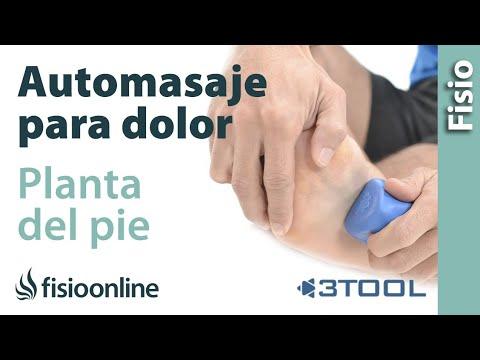 Automasaje para aliviar el dolor de la planta del pie y del talón