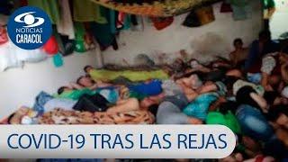 Coronavirus tras las rejas: COVID-19 ya está varias cárceles de Colombia, que están a rebosar