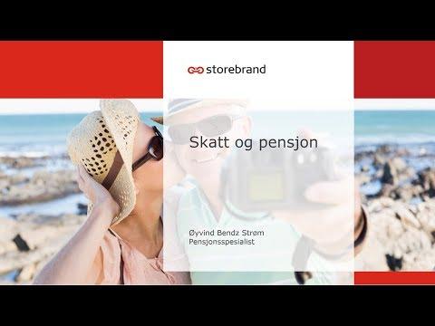 Storebrand – skatt og pensjon