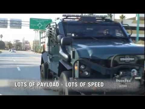 Oshkosh TPV SWAT TRUCK