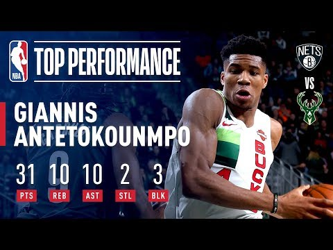 Giannis Antetokounmpo Records His 12th Career Triple Double! | December 29, 2018