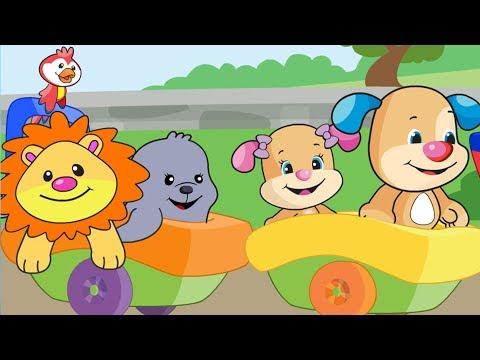 Lernspaß | Der Tier-Zug | Fisher-Price Deutsch | Kinderlieder | Cartoons für Kinder