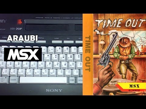 Time Out (New Frontier, 1988) MSX [406] Walkthrough