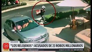 RELOJEROS AHORA EN CHILE - BANDAS CRIMINALES DE VENEZUELA INVADEN SUDAMERICA / venezolanos de Peru