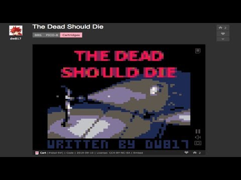 The Dead Should Die on Pico-8 by dw817