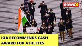 IOA Recommends Cash Award For Athletes | Recommends 75Lac For Gold Winner - NEWSXLIVE