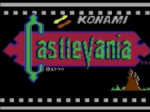 Jugando un par de horas al Castlevania de Commodore64