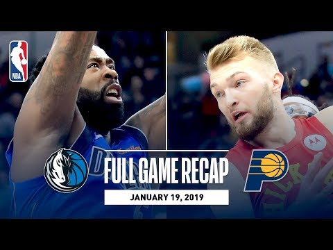 Full Game Recap: Mavericks vs Pacers | Strong First Half Propels IND