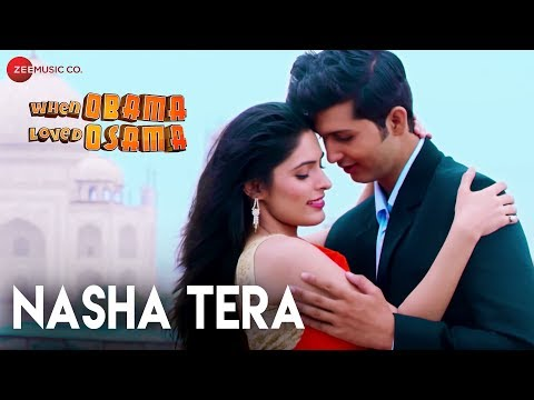NASHA TERA LYRICS - When Obama Loved Osama | Jonita Gandhi | Sambhav Jain