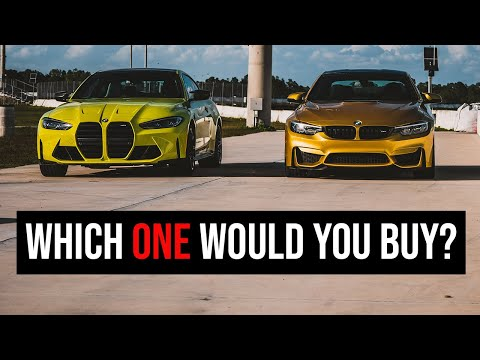2021 BMW M4 (G82) vs. M4 (F82) - Which One To Buy?