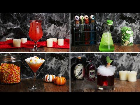 Halloween Cocktails As Made By Hannah Hart ? Tasty
