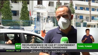 Covid-19 : la Tunisie reconfine quatre régions
