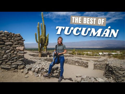 The BEST of Travel in TUCUMAN 🌵 | Visiting the SMALLEST PROVINCE in Argentina! 🇦🇷