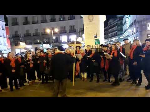 SANTA ÁGUEDA EN MADRID. 2020. CORO DE EUSKAL ETXEA
