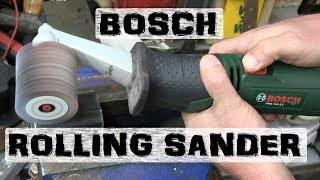 BOLTR: Bosch Drum Sander | Undercarriage Abrasion