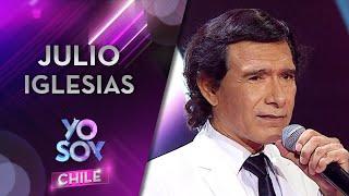 """Roberto Pereda interpretó """"Momentos"""" de Julio Iglesias en Yo Soy Chile 3"""