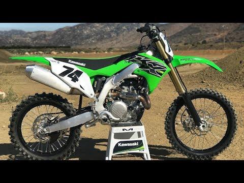 First Ride 2019 Kawasaki KX450 - Motocross Action Magazine