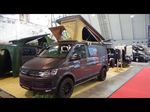 2018 Multicamper Adventure Volkswagen - Exterior and Interior - Caravan Show CMT Stuttgart 2018