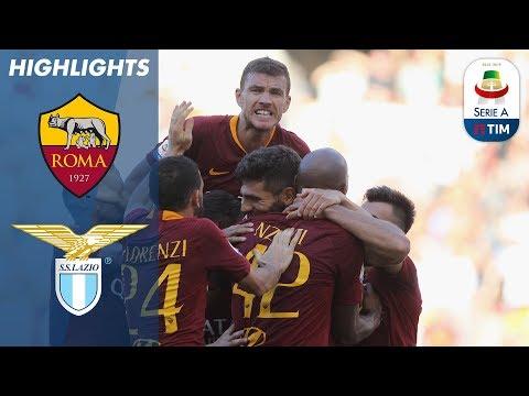 أهداف مباراة روما ولازيو 3-1 - البطولة الايطالية -