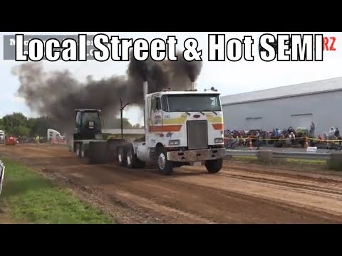 Local Street And Hot SEMI Truck Class From WMP At Kent City Michigan 2018