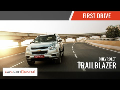 2015 Chevrolet Trailblazer| First Drive | CarDekho.com