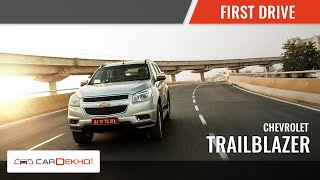 2015 Chevrolet Trailblazer| First Drive | CarDekho.com