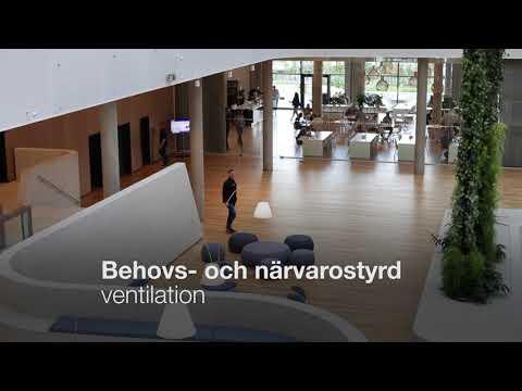 Lindab | Pascal - ett behovs- och närvarostyrt ventilationssystem