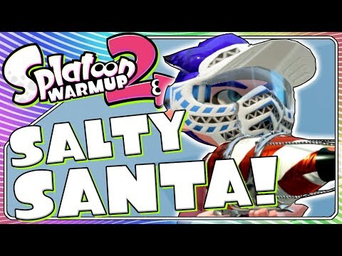 Don't Attack Santa! | Splatoon Warm Up 14
