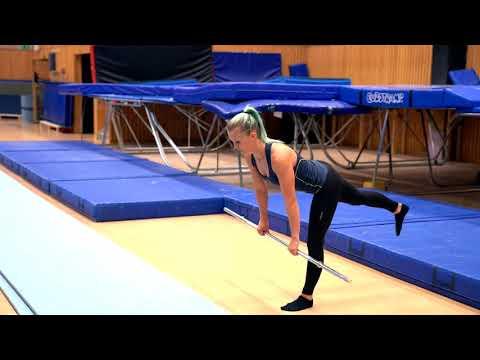 Gymnastiskt Basträningsprogram 15 Rakt marklyft