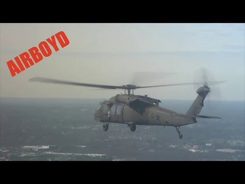 connectYoutube - Blackhawks Fly Around New York and New Jersey