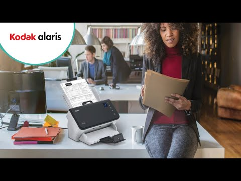 Alaris E1000 Series Scanners | One Touch Scanning | Alaris, a Kodak Alaris business Preview