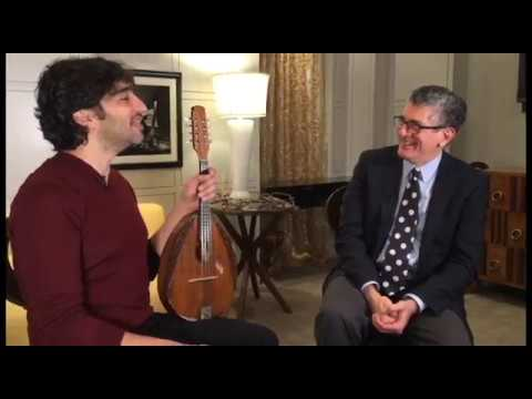 Evans's Corner: Conversation with Mandolin Soloist Avi Avital