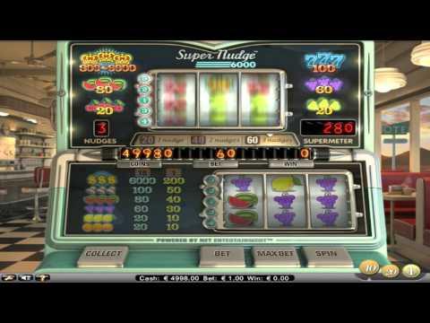 FREE Super Nudge 6000 ™ slot machine game preview by Slotozilla.com