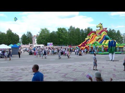 Республика Коми отметила День России и День города Сыктывкара