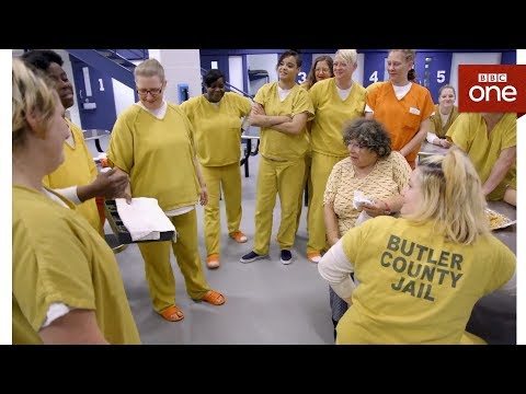 Miriam's first time inside a US jail - Miriam's Big American Adventure - BBC One