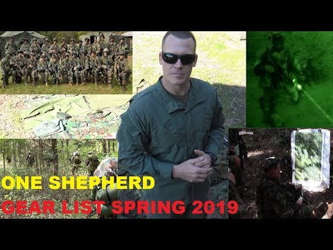 Spring semester One Shepherd gear video