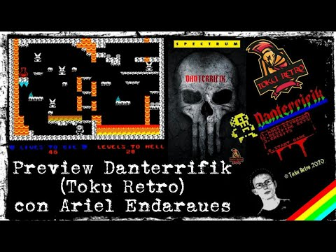 Canal Homebrew: Preview de Danterrifik (Toku Retro) con Ariel Endaraues