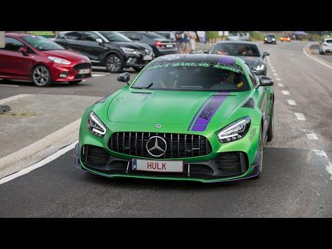Mercedes AMG GT R Pro - Accelerations & Revs !