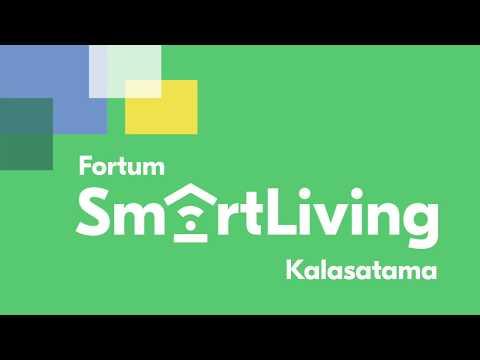 Fortum SmartLiving toiminnot Kalasatamassa