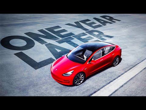 Tesla Model 3: One Year Later