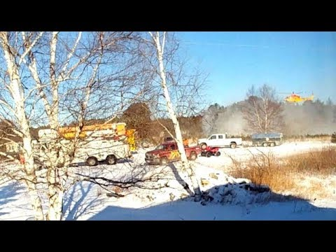 Helicopter crash leaves four workers dead in Ontario