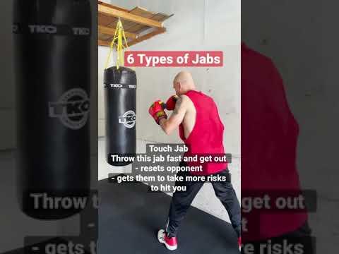 6 Types of Jabs #boxing #jab