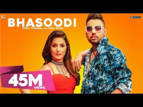 BHASOODI LYRICS - Sonu Thukral | Pardhaan Rap | Hina Khan