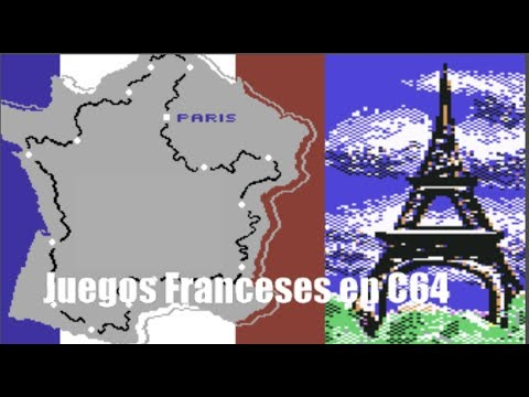 Commodore Commodoriano: Juegos Franceses de Commodore 64