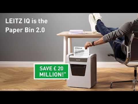 Leitz IQ: Paper Bin 2.0