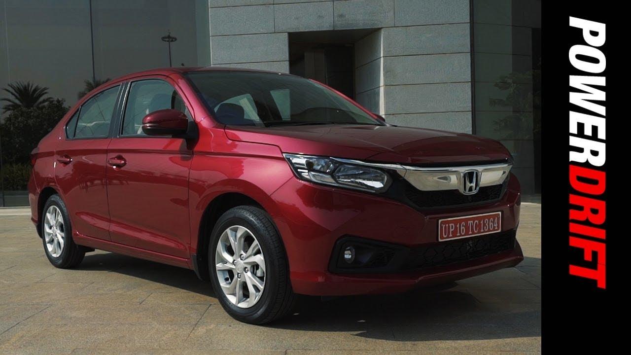 New Honda Amaze : What's new in it : PowerDrift