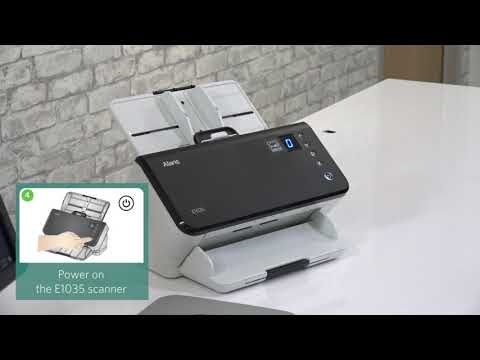 How to Setup the Alaris E1035 Scanner and Imaging Software Preview
