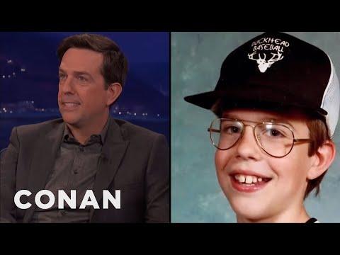 connectYoutube - Ed Helms' Childhood Nickname Was Chuck E. Cheese  - CONAN on TBS