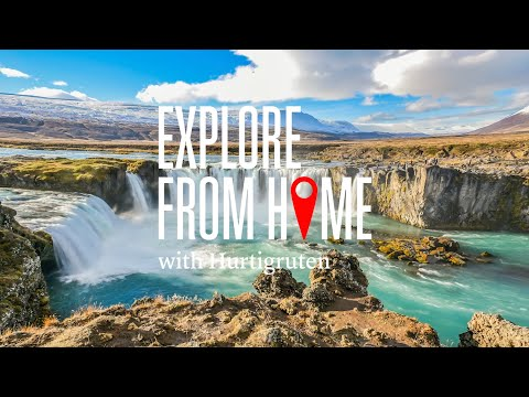 Explore from home with Hurtigruten | Iceland